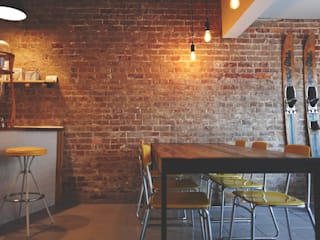Coffeehouse: industriell  von rius-interior,Industrial