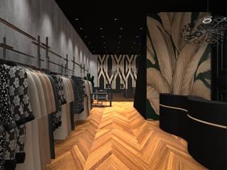 Loja Luxo 3: Lojas e imóveis comerciais  por Designer Paula Daiane dos Santhos