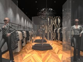 Loja Luxo 1: Lojas e imóveis comerciais  por Designer Paula Daiane dos Santhos