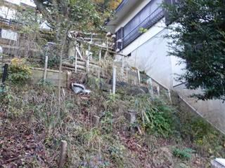 施工前: 庭や煌久が手掛けたです。
