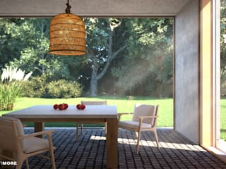 Modern style conservatory by Moretti MORE Modern