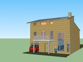 Casa en Chañar: Casas unifamiliares de estilo  por Arquitecto Esteban Katz