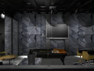 Pub Residencial Luxo 2: Adegas  por Designer Paula Daiane dos Santhos