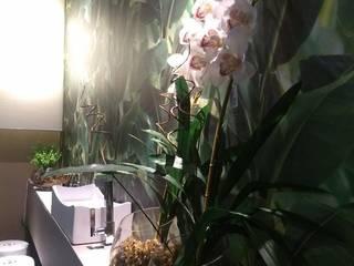 Lavabo Moderno : Banheiros  por Designer Paula Daiane dos Santhos