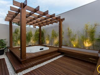 Steam Bath by Arquiteta Carol Algodoal Arquitetura e Interiores,