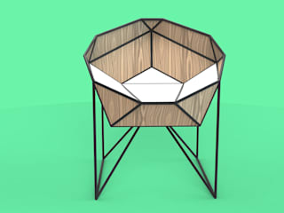 Concepto Silla - Colectivo con A+D Arquitectura y Diseño de HRG Diseño & Taller Moderno