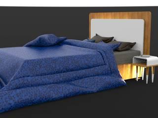Habitacion Sold Out de HRG Diseño & Taller Minimalista