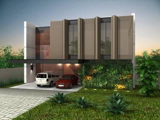 Condominios de estilo  por Harmônica Arquitetura