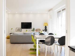 la casa di stella Soggiorno moderno di studio di progettazione architetto caterina martini Moderno