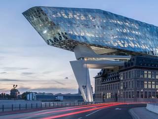 德國旭格國際建材 Office buildings Glass Blue