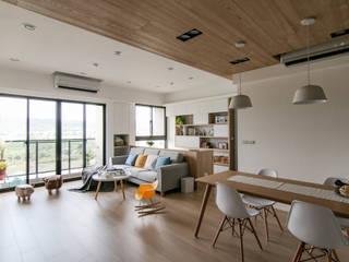 Living room by 拓雅室內裝修有限公司, Scandinavian