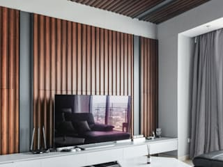 Living room by FIANO INTERIOR