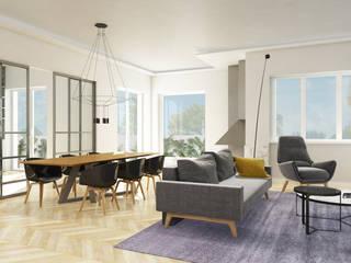 Grippo + Murzi Architetti Modern dining room Metal Black