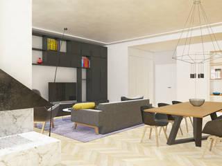 Grippo + Murzi Architetti Modern dining room Wood Black