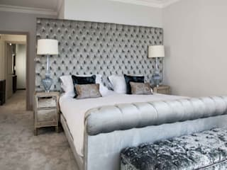 Town House Brighton Classic style bedroom by Pfeiffer Design Ltd Classic
