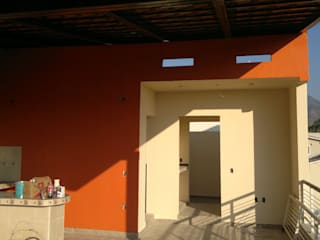 Ampliacion de casa habitacion, puerto vallarta jalisco Balcones y terrazas rurales de arkiteck Rural