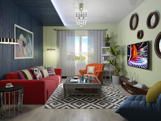 Pop Art Decoration by homify Eclectic