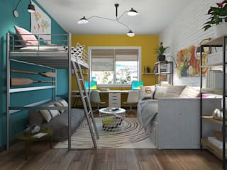 Fusion decoration Eclectic style nursery/kids room by homify Eclectic