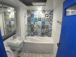 حمام تنفيذ 디자인K하우징
