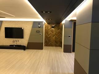 غرفة المعيشة تنفيذ 디자인K하우징