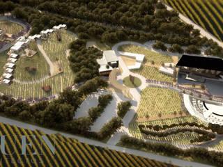 Vườn phong cách chiết trung bởi Stuen Arquitectos Chiết trung