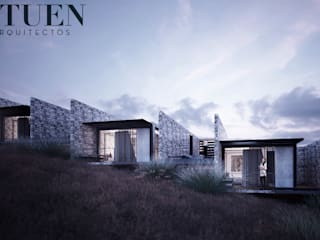 Stuen Arquitectos Bungalow Stone Grey