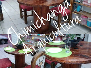 Mesas y Comedores de Chimichanga Sustentabilidad Creativa