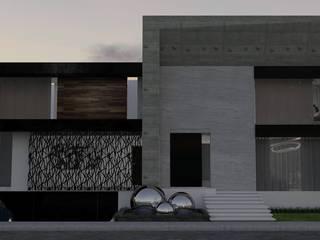 Casa GC 1920 Casas modernas de HC Arquitecto Moderno