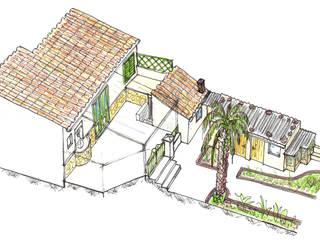 de estilo  por Diego Cuttone, arquitectos en Mallorca