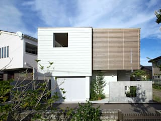 Houses by Takeru Shoji Architects.Co.,Ltd, Eclectic