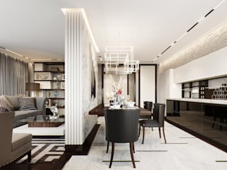 Modern dining room by EJ Studio Modern