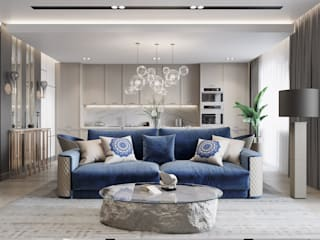 Modern living room by EJ Studio Modern