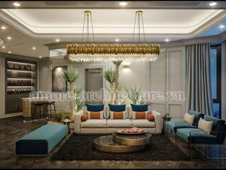 Thiết kế nội thất chung cư hiện đại:   by A&More Architecture