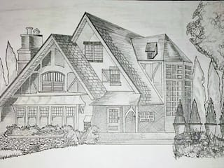 House..Sketch:   by Archspace Interio