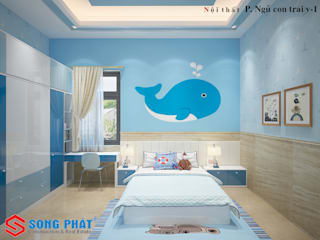 Baby room by Công ty Thiết Kế Xây Dựng Song Phát, Asian