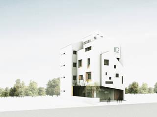 Casas estilo moderno: ideas, arquitectura e imágenes de 上埕建築 Moderno