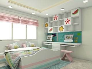 Nowoczesny pokój dziecięcy od Spaces Alive Nowoczesny
