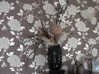 behang:  Woonkamer door living by JM