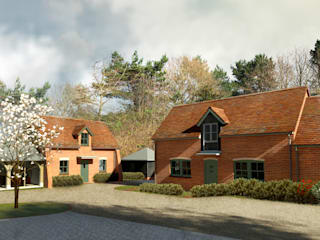 Buildings B & C:  Country house by Crafted Architects