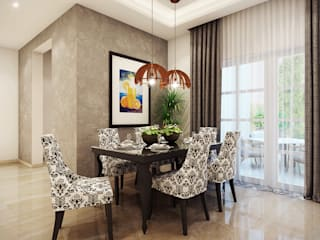 MARVEL ENIGMA Modern dining room by Spaces Alive Modern