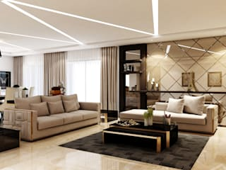 MARVEL SANGRIA Modern living room by Spaces Alive Modern