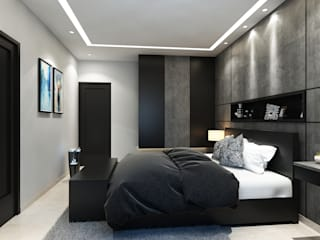ROCKSTAR BEDROOM Modern style bedroom by Spaces Alive Modern