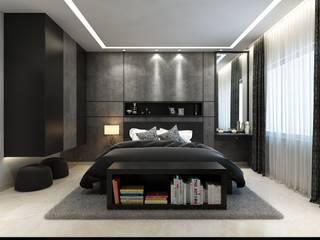 ROCKSTAR BEDROOM Moderne Schlafzimmer von Spaces Alive Modern