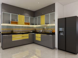 Modern kitchen by Spaces Alive Modern