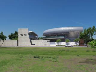 SHADDAI: Estudios y oficinas de estilo moderno por MOSCOSOARCHITECTS