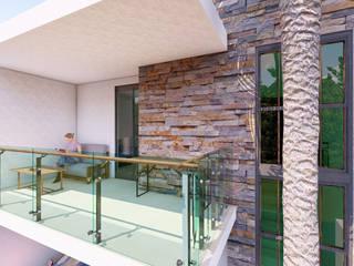 Proyecto Casa Brenda :  de estilo  por Arquitectura + Diseño Proyectual