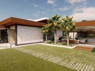 モダンな 家 の Marco Lima Arquitetura + Design モダン