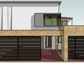 Дома в . Автор – TECTUM Diseño & Construccion, Эклектичный