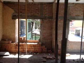 AMPLIACION CASA HABITACION Casas eclécticas de TECTUM Diseño & Construccion Ecléctico