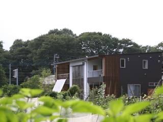外観 東南: 株式会社高野設計工房が手掛けた木造住宅です。